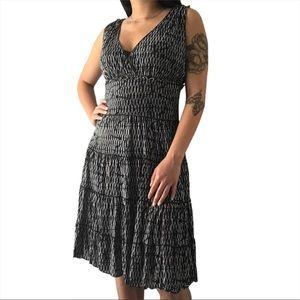 💃🏾 Max Studio Women's Gray Mid Flare Dress 💃🏾
